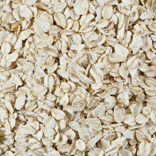 Organic oat flakes fine