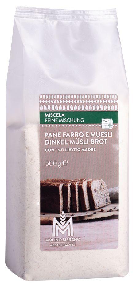 Mischung Dinkel & Müsli Brot