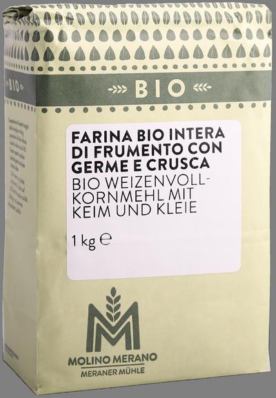 Weizenvollkornmehl Bio