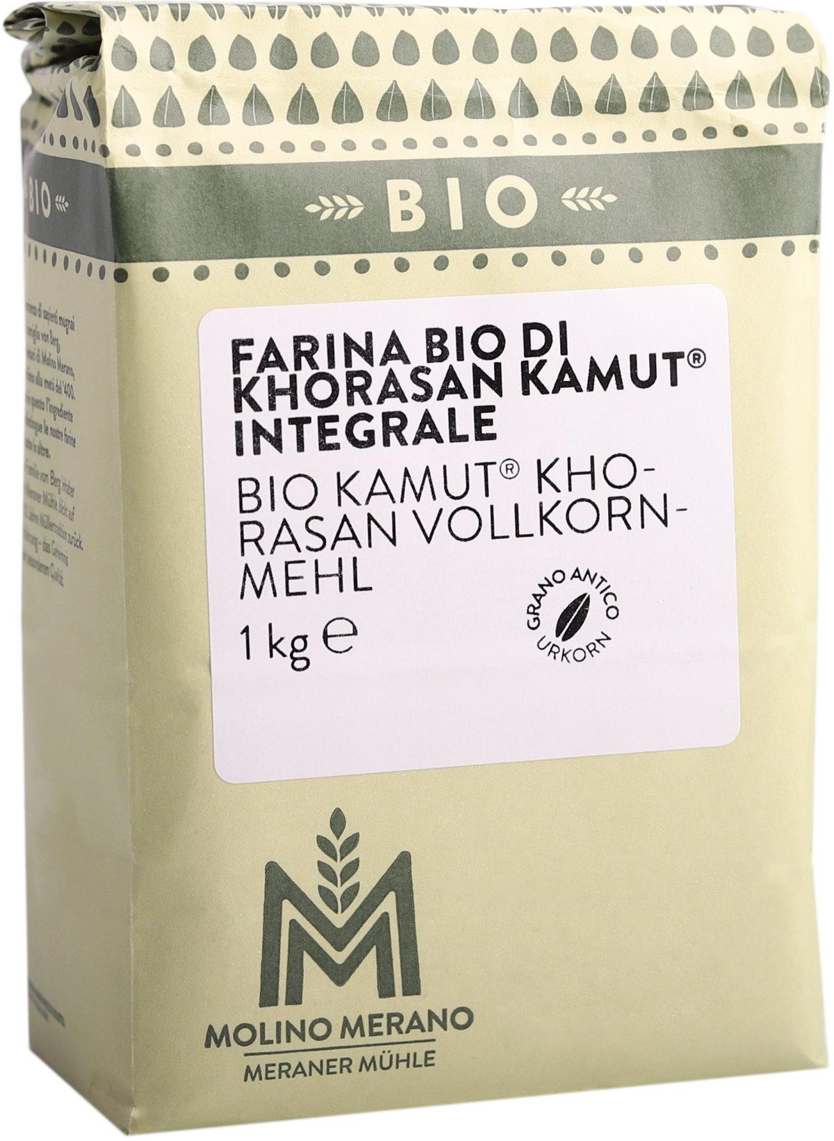 Organic Kamut® khorasan wholemeal flour