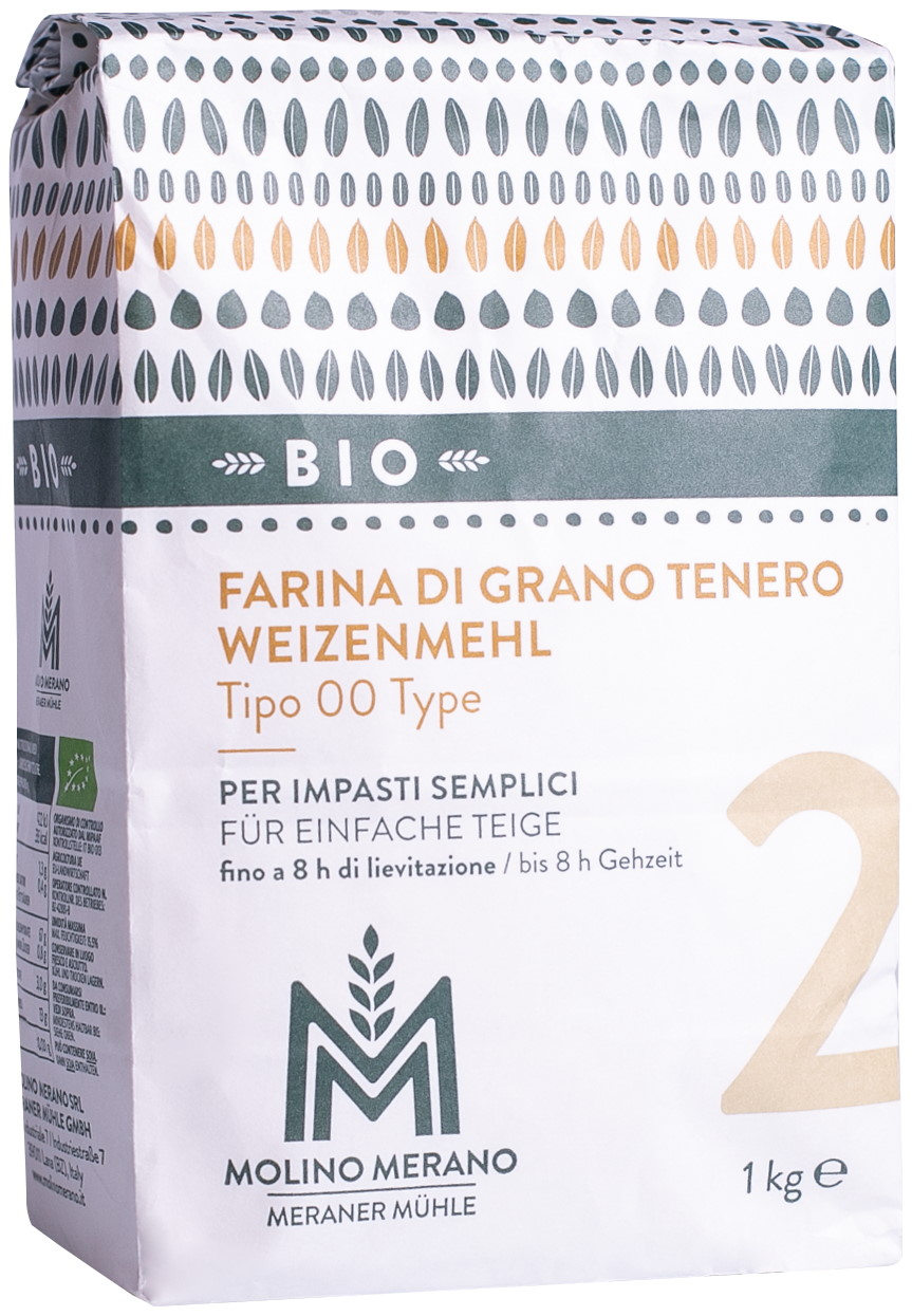 Bio Weizenmehl Type 00 Nr. 2