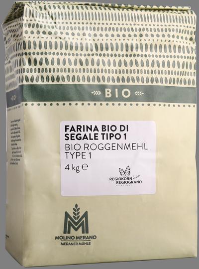 Farina di segale tipo 1 Regiograno Bio