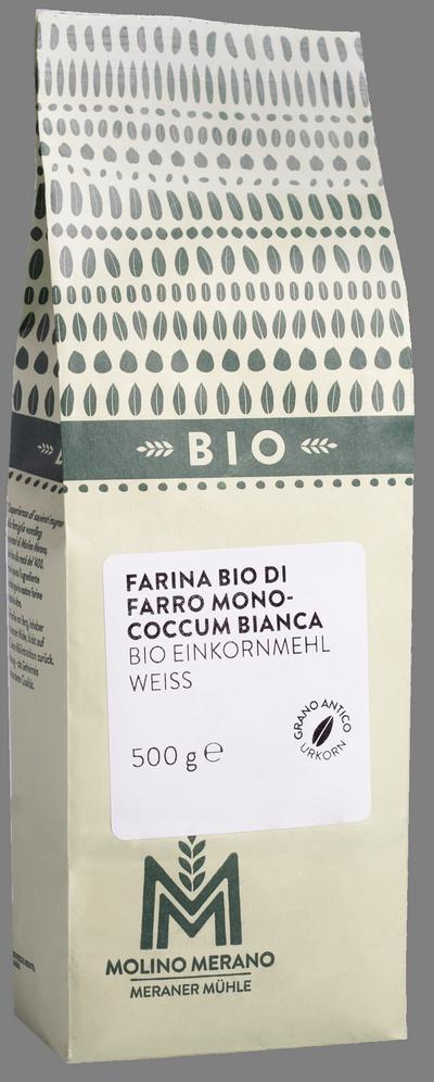 Farina di farro monococcum bianca Bio