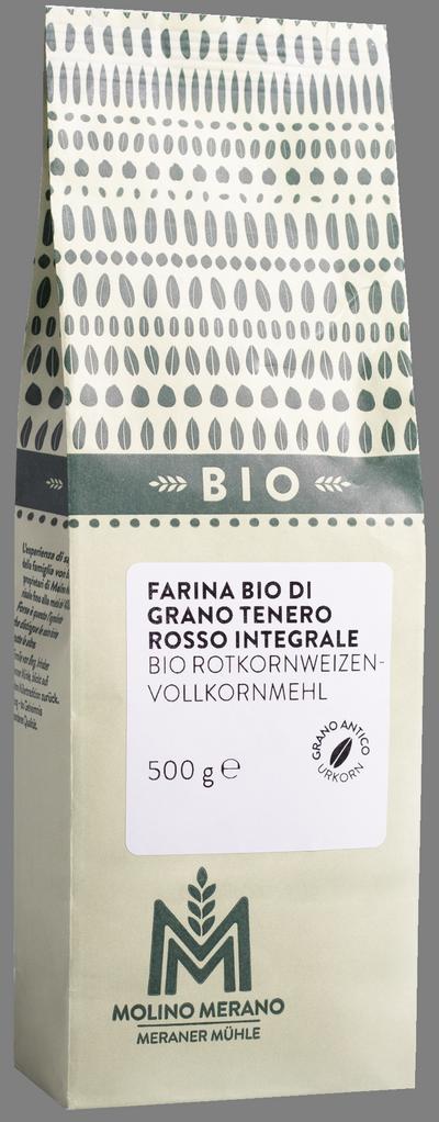 Farina di grano tenero rosso integrale Bio
