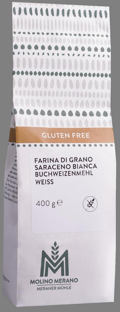 Farina di grano saraceno bianca senza glutine