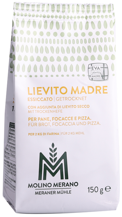 Lievito Madre Naturhefe mit Trockenhefe