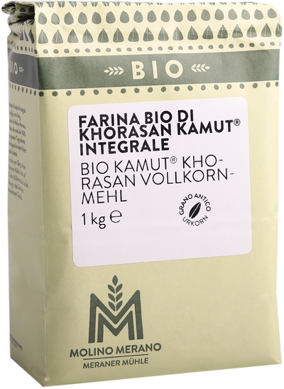 Farina integrale di grano khorasan kamut® Bio