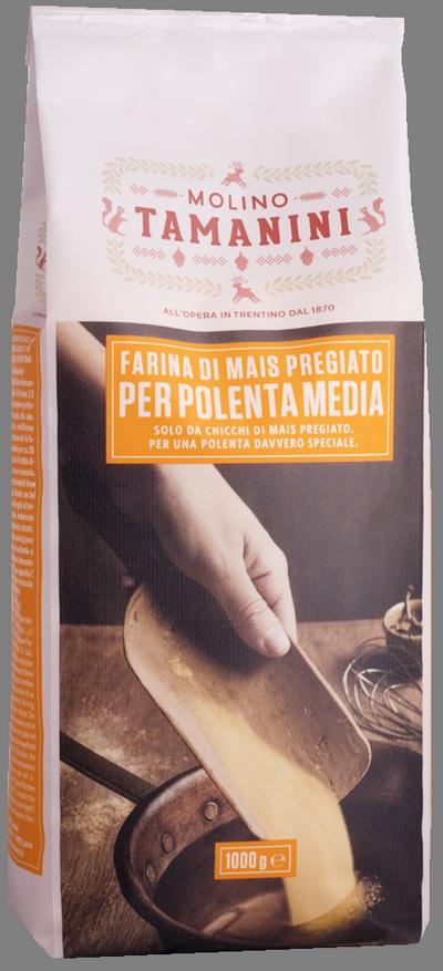 Farina di mais per polenta media