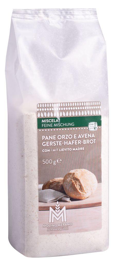 Mischung Gerste & Hafer Brot
