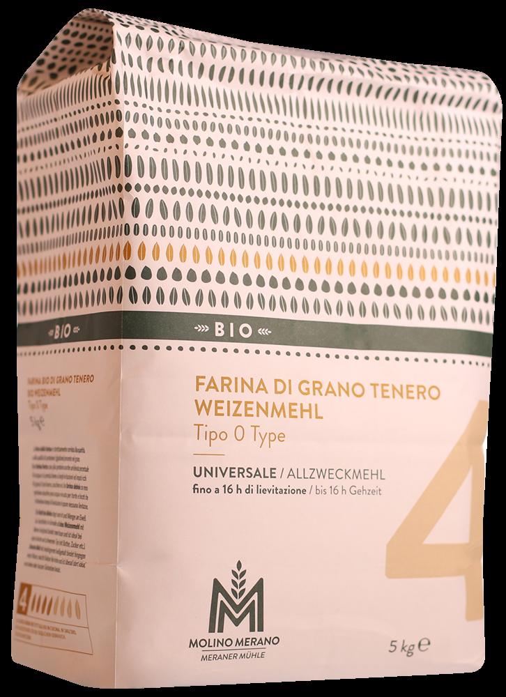 Bio Weizenmehl Type 0 Nr. 4