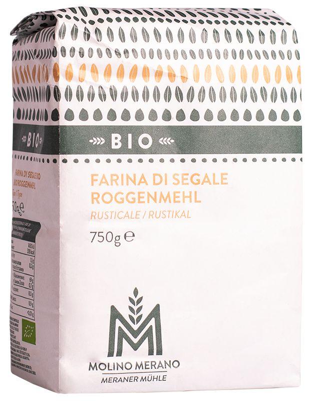Bio Roggenmehl rustikal