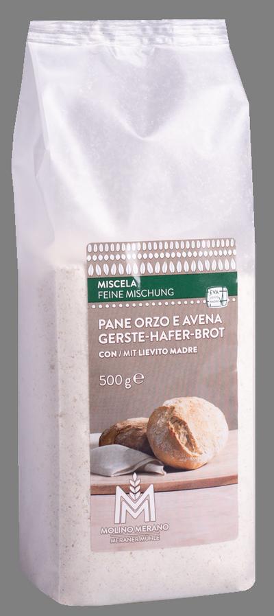Gerste-Hafer Brot Backmischung
