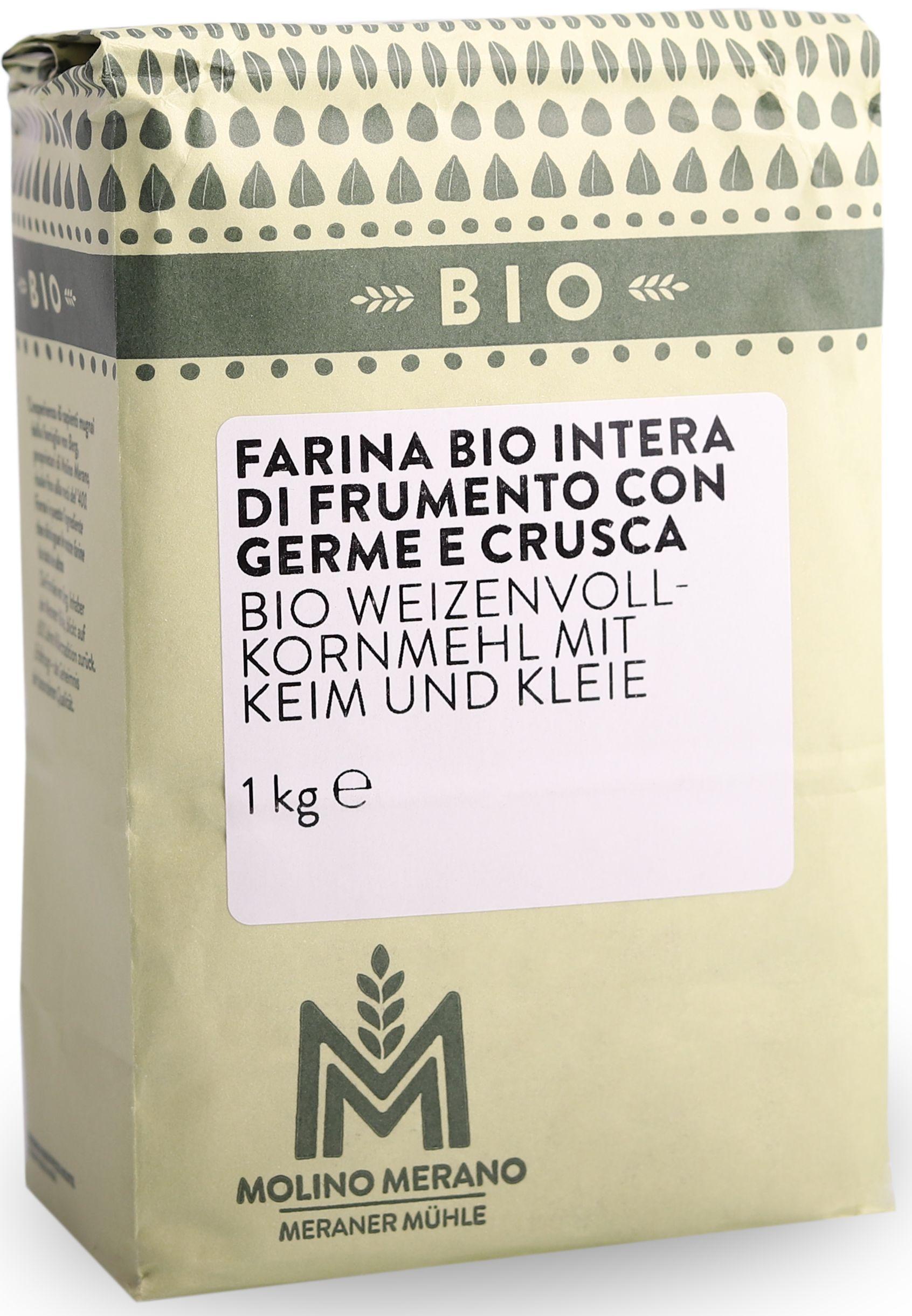 Bio Weizenvollkornmehl mit Keim