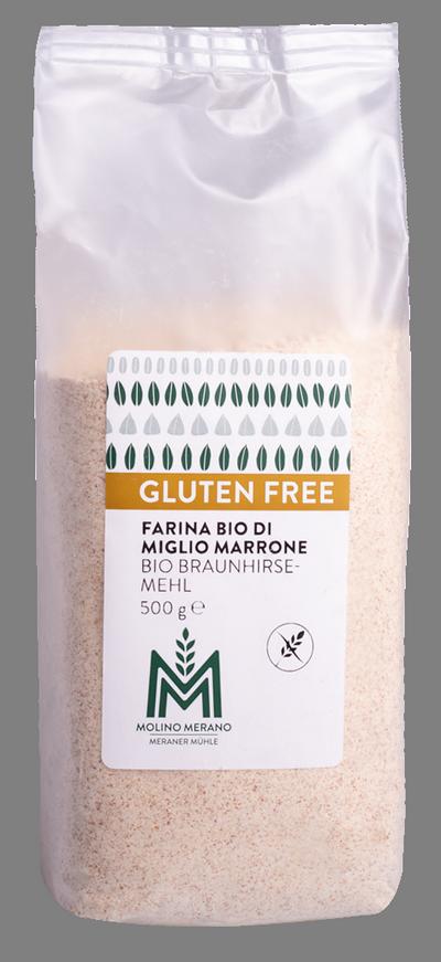 Farina di miglio marrone senza glutine Bio