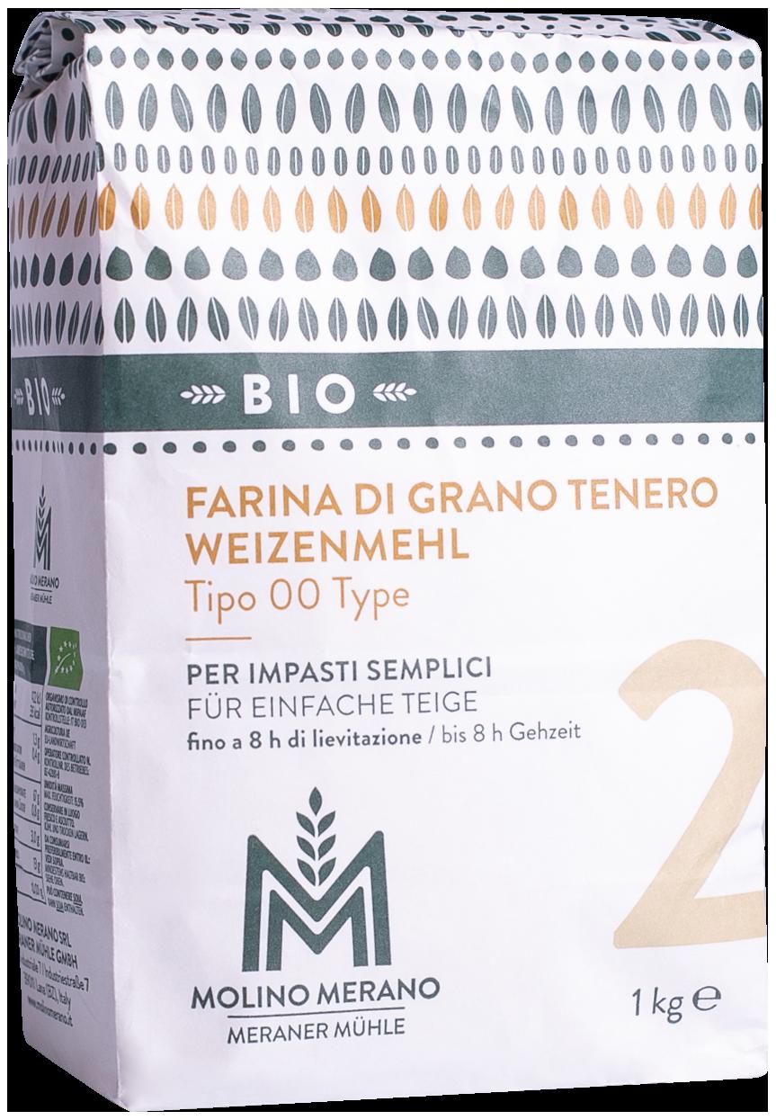Weizenmehl Nr. 2 Type 00 Bio