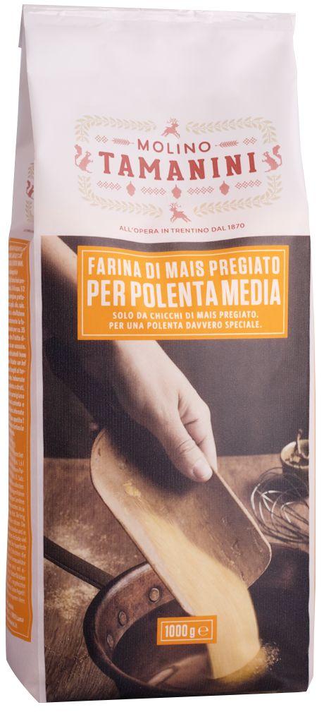 Maisgriess mittel für Polenta