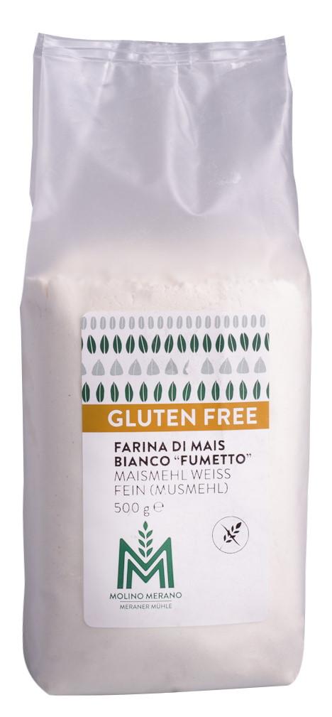 White cornmeal gluten free