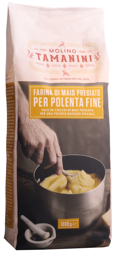 Farina di mais per polenta fine