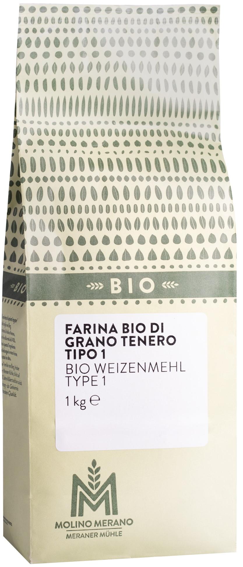 Bio Weizenmehl Type 1