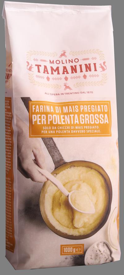 Farina di mais per polenta grossa