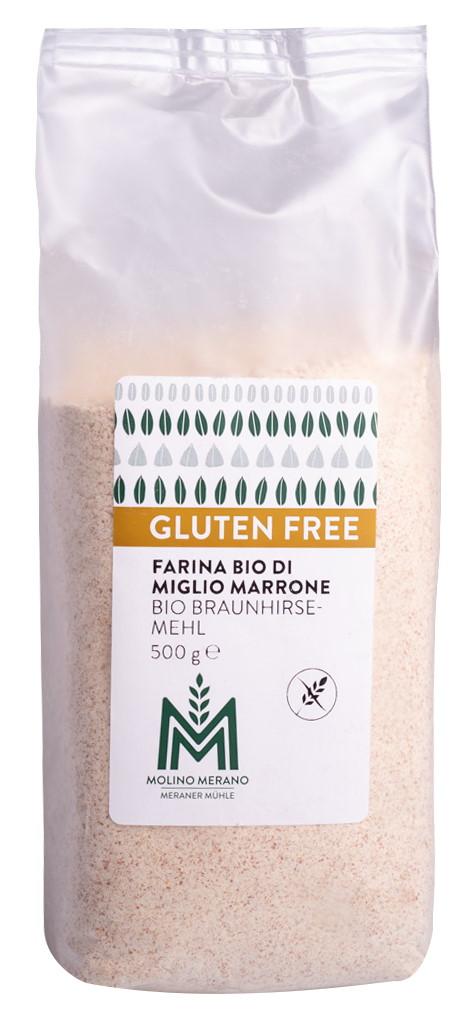 Organic brown millet flour gluten free