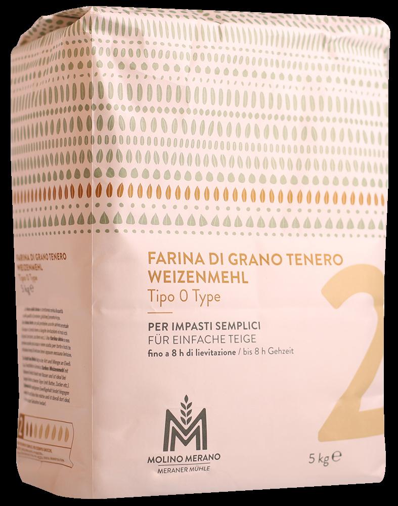 Soft wheat flour type 0 no. 2