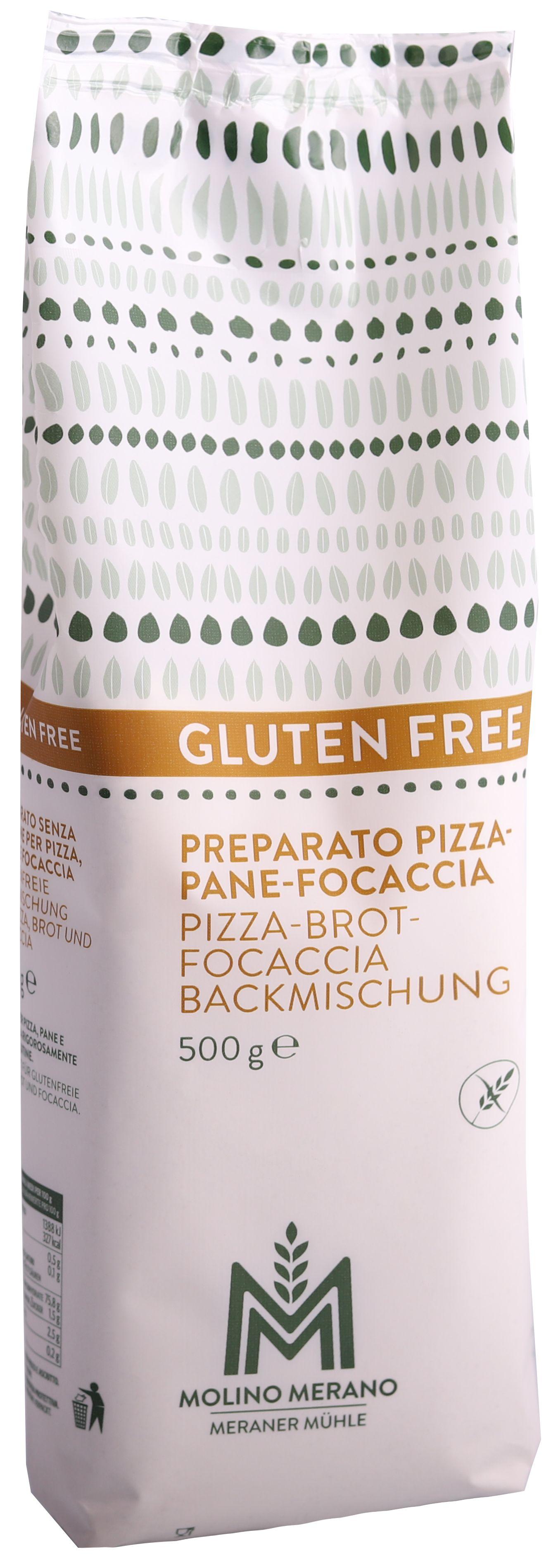 Baking mix pizza, bread, focaccia gluten free