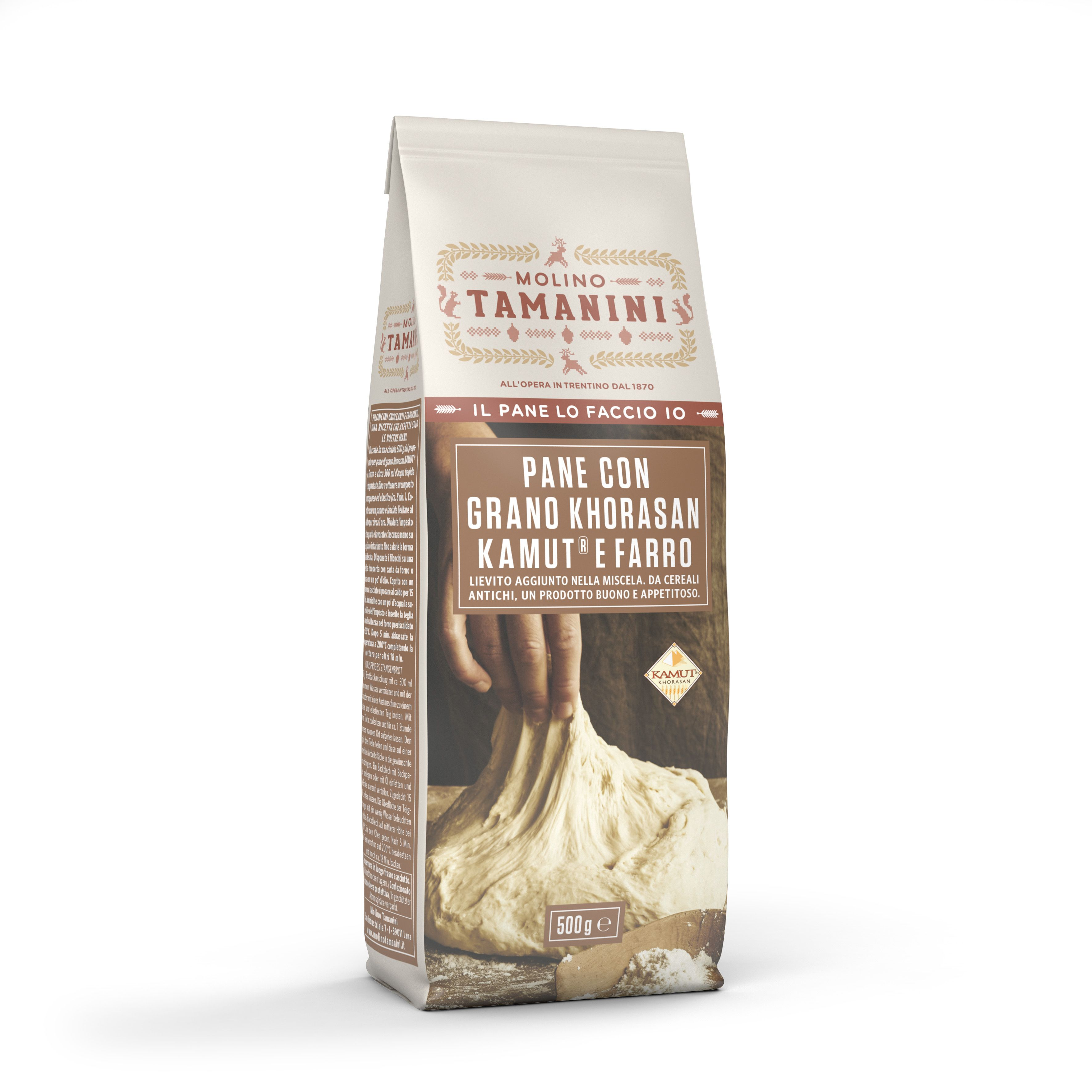 Organic baking mix Kamut® Khorasan and Spelt Bread