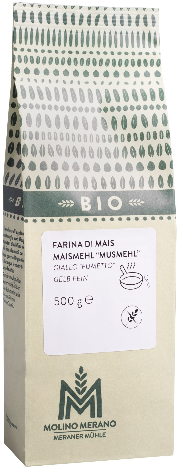 Bio Maismehl gelb glutenfrei