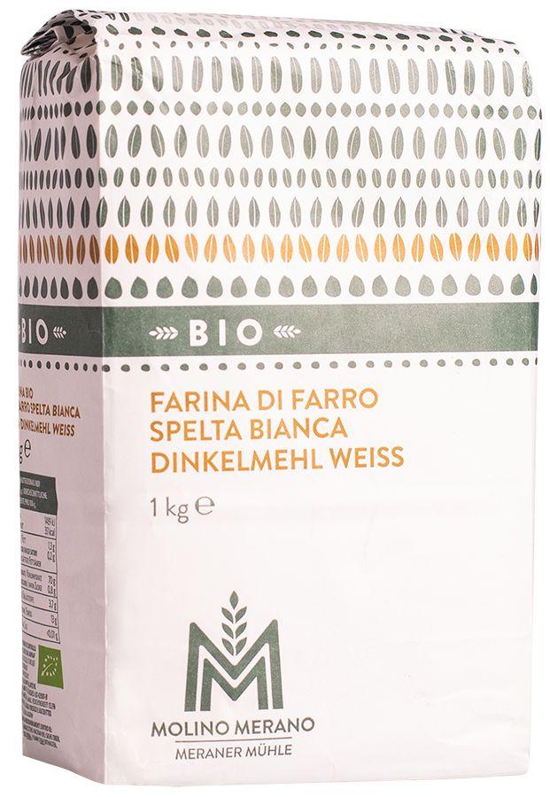 Bio Dinkelmehl weiß