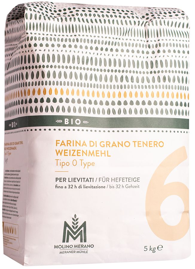 Bio Weizenmehl Type 0 Nr. 6