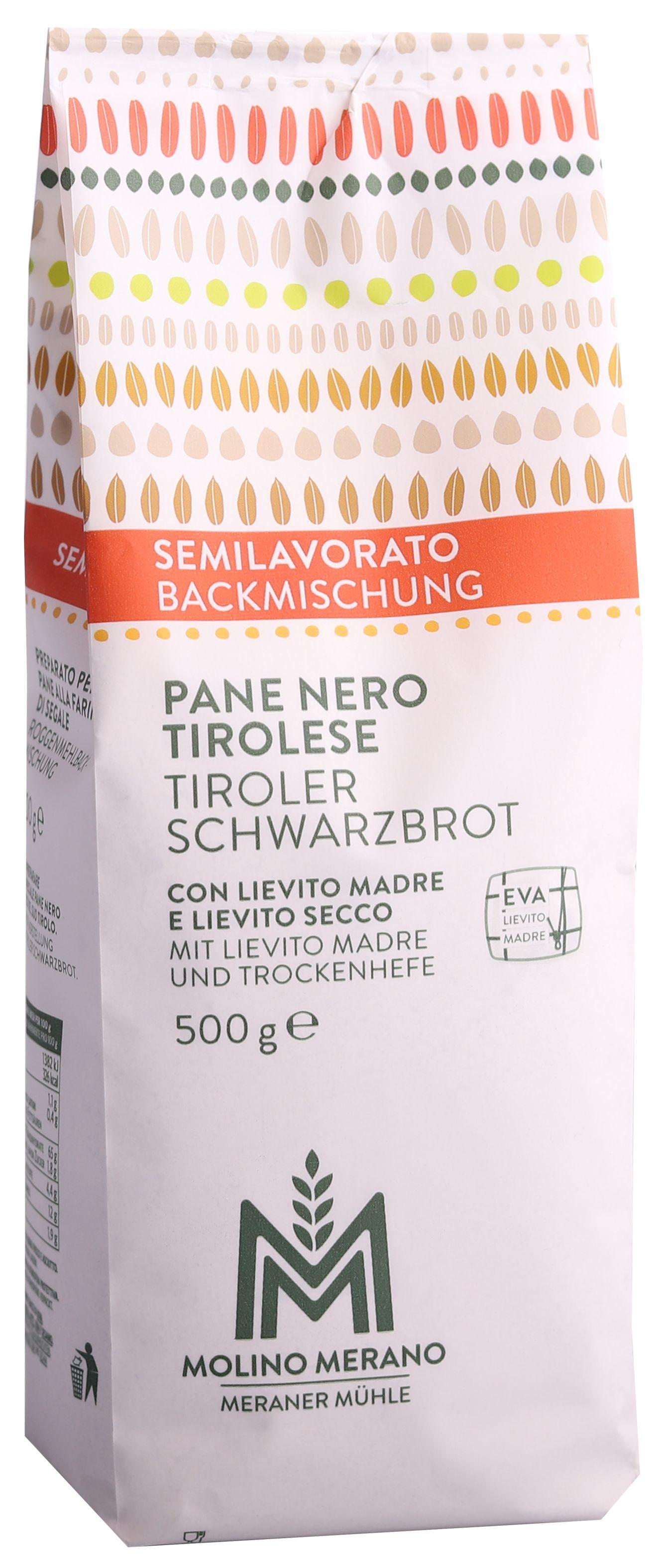 Mischung Tiroler Schwarzbrot
