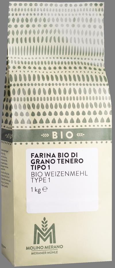 Farina di grano tenero tipo 1 Bio