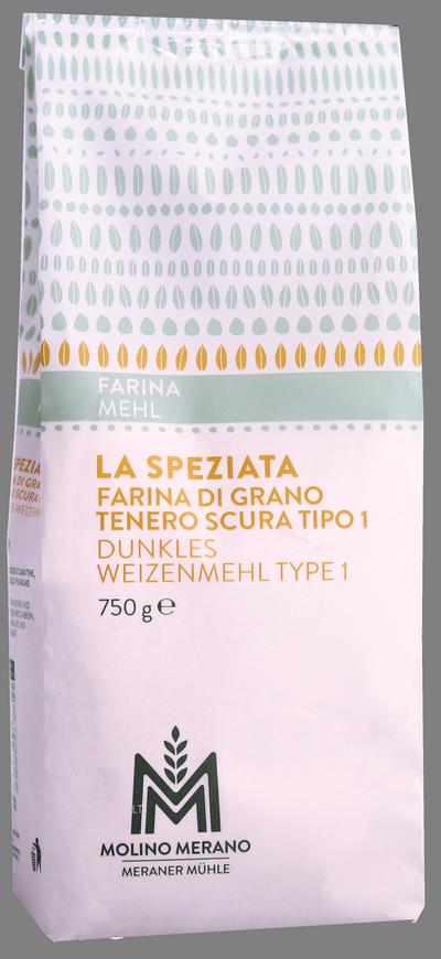 """Farina di grano tenero tipo 1 """"La Speziata"""""""