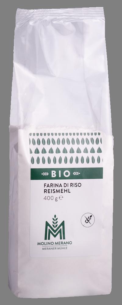 Farina di riso senza glutine Bio
